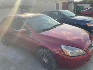 Honda Accord 2005 Sedan EX Automatic Red | Cars for sale in Lagos State, Ajah