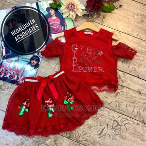 Red Top and Skirt for Girls | Children's Clothing for sale in Imo State, Owerri