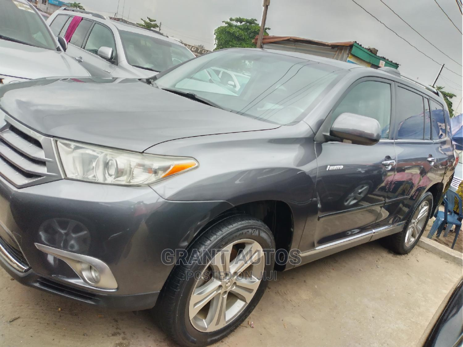 Toyota Highlander 2011 Limited Gray | Cars for sale in Apapa, Lagos State, Nigeria