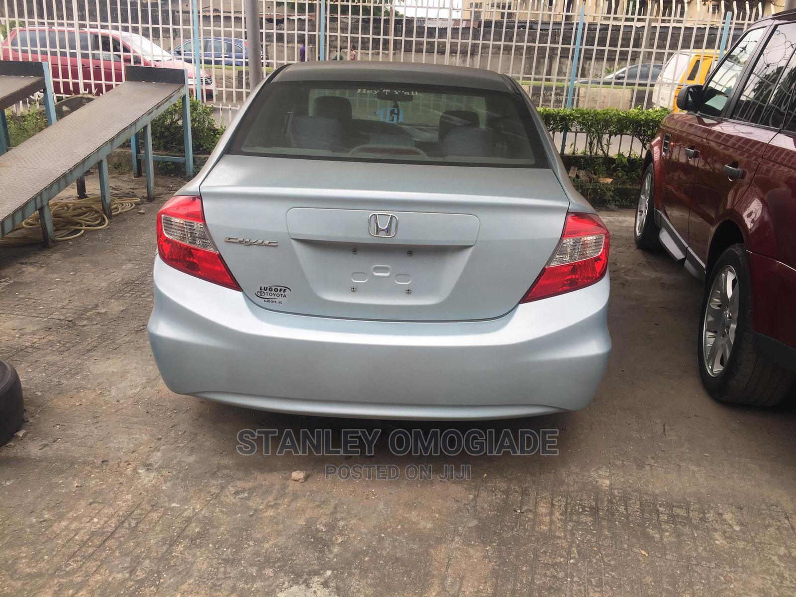 Honda Civic 2012 Blue | Cars for sale in Yaba, Lagos State, Nigeria