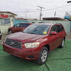 Toyota Highlander 2008 4x4 Red | Cars for sale in Lagos State, Amuwo-Odofin