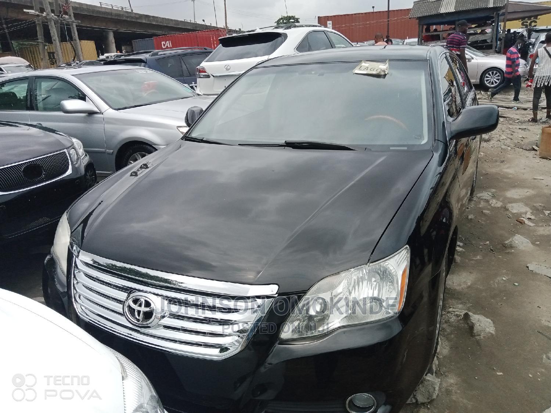 Toyota Avalon 2008 Black