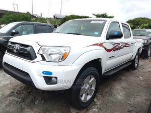 Toyota Tacoma 2012 Double Cab V6 Automatic White | Cars for sale in Lagos State, Apapa
