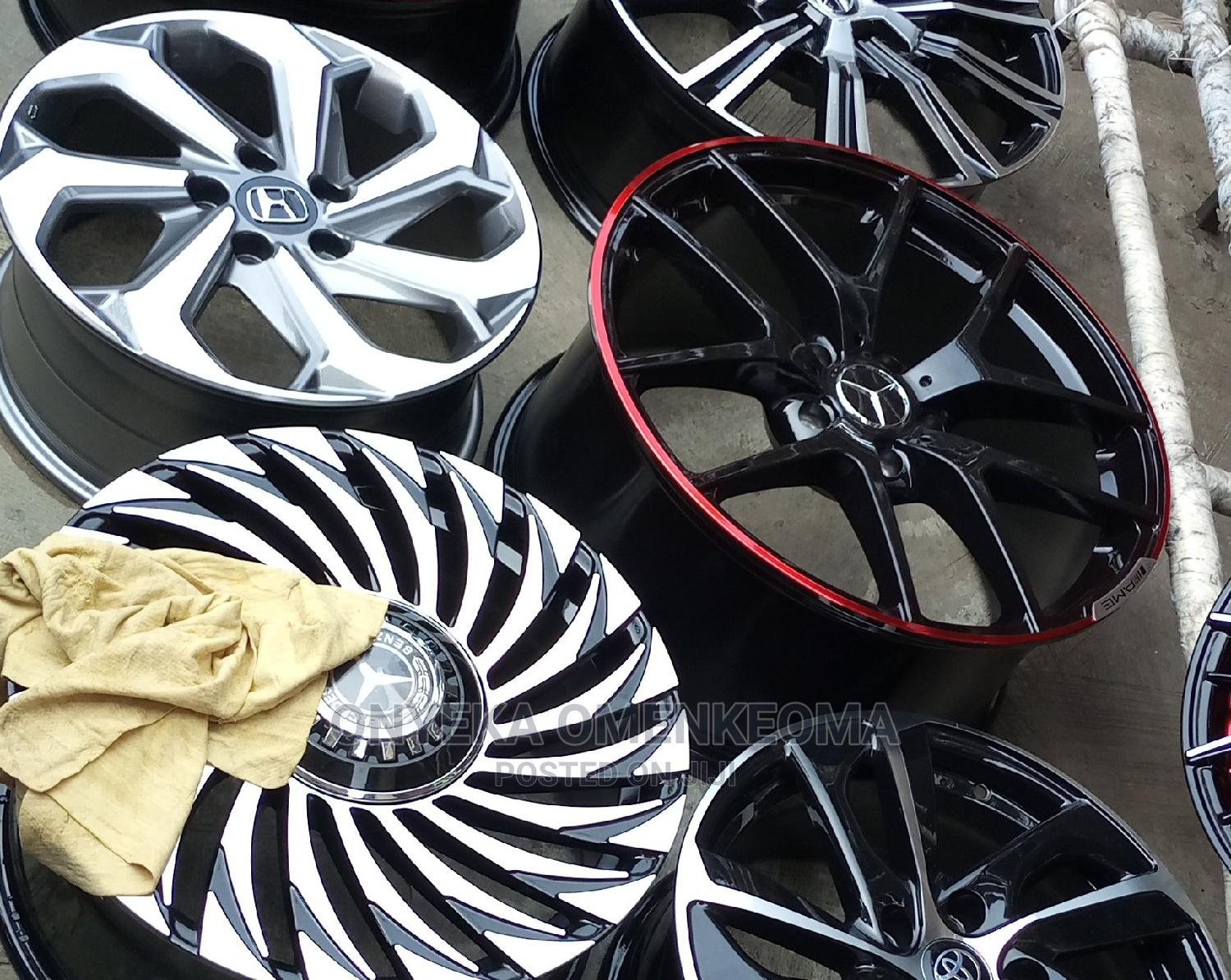 Mercedes Benz Rim and Tyre Available