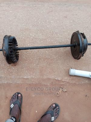 50kg E-Bar/ Barbell   Sports Equipment for sale in Lagos State, Alimosho