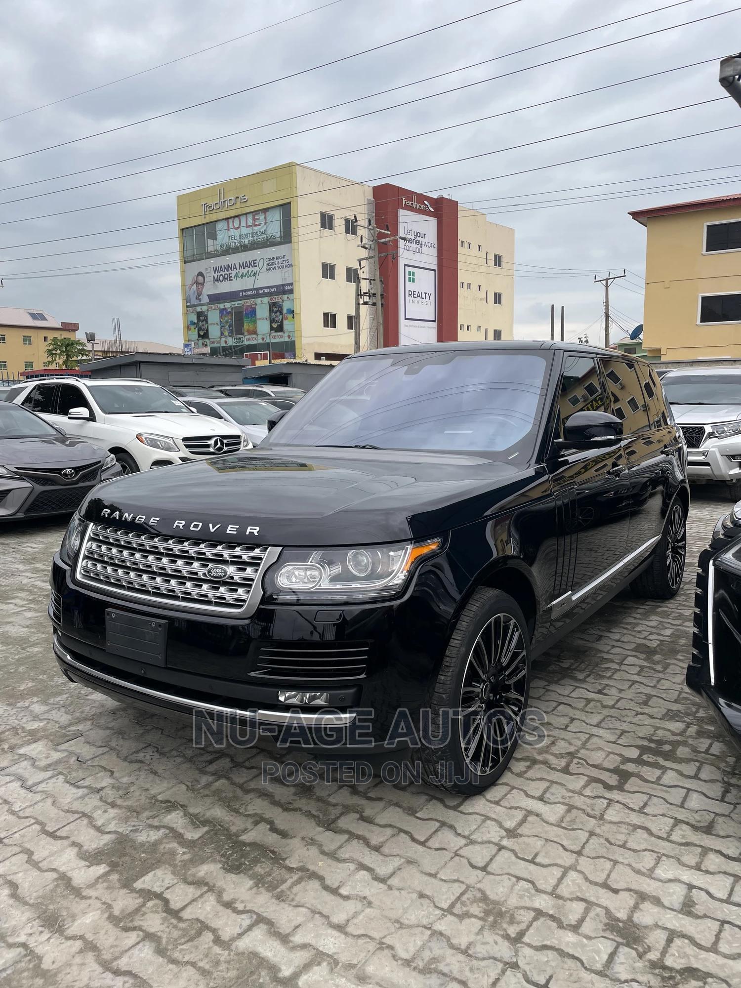 Land Rover Range Rover Vogue 2016 Black | Cars for sale in Lekki, Lagos State, Nigeria
