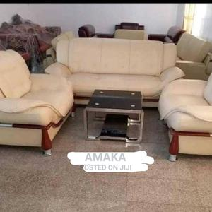 Sofa Chair With Center Table   Furniture for sale in Lagos State, Tarkwa Bay Island
