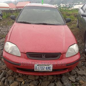 Honda Civic 1999 Red | Cars for sale in Abuja (FCT) State, Bwari