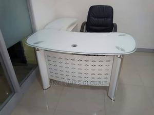 Executive 1.4m Glass Table With Drawer and Extension | Furniture for sale in Lagos State, Maryland