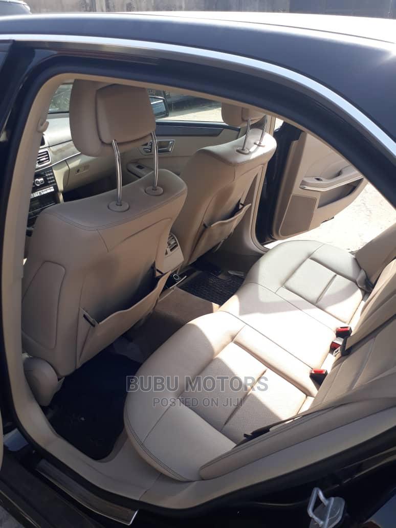 Mercedes-Benz E350 2014 Black   Cars for sale in Ikeja, Lagos State, Nigeria