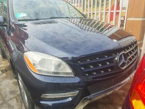 Mercedes-Benz M Class 2013 ML 350 4Matic Blue | Cars for sale in Lagos State, Ikeja