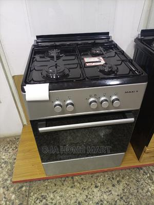 Maxi 60cm*60cm Standing Gas Cooker With Oven 4gas   Kitchen Appliances for sale in Lagos State, Ikeja