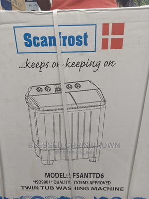 Scanfrost Washing Machine 8kg   Home Appliances for sale in Lagos State, Ojo