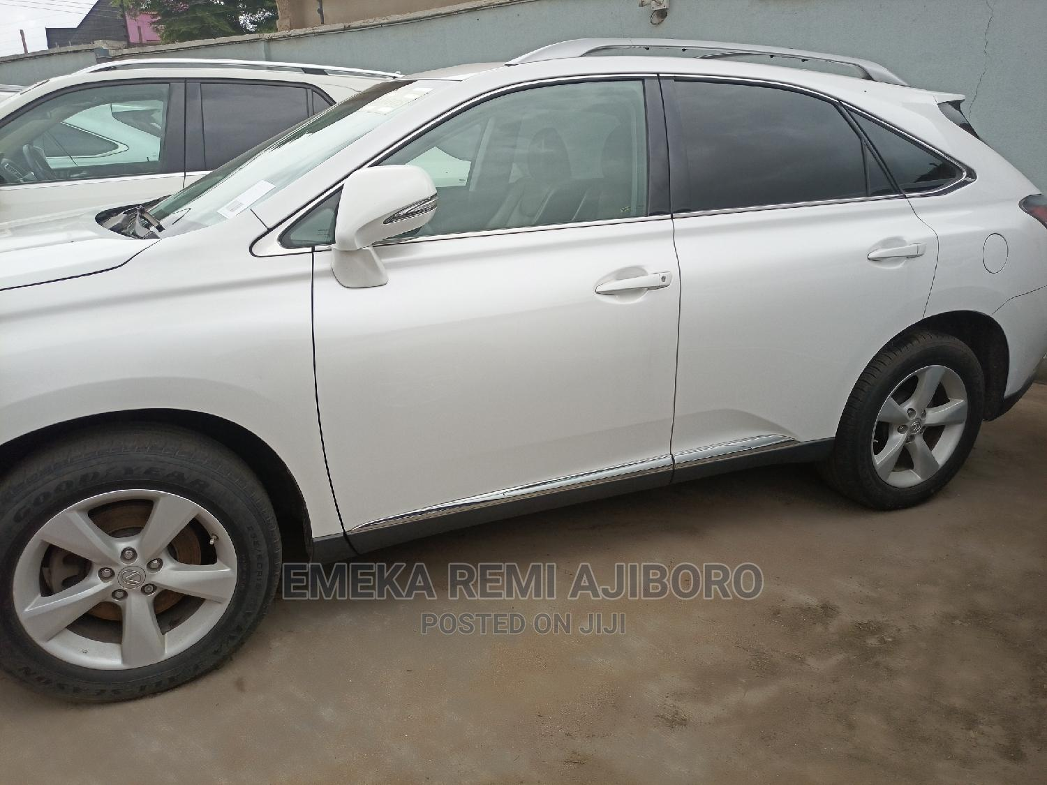 Lexus RX 2013 350 AWD White   Cars for sale in Ojo, Lagos State, Nigeria
