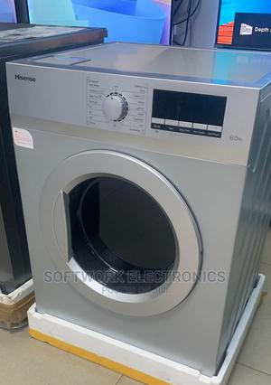 Hisense 8kg Automatic Front Loader Washing Machine | Home Appliances for sale in Lagos State, Lekki