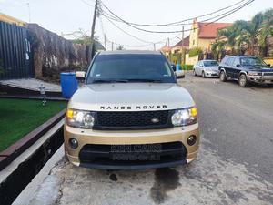 Land Rover Range Rover Sport 2008 4.2 V8 SC Gold   Cars for sale in Lagos State, Ikeja