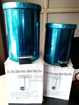 Stainless (Silver) Pedal Bin- Hotel Amenities   Home Accessories for sale in Lagos State, Lagos Island (Eko)