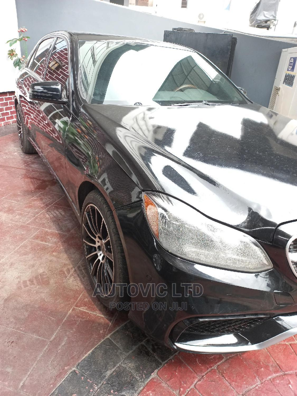 Mercedes-Benz E350 2016 Black | Cars for sale in Ajah, Lagos State, Nigeria
