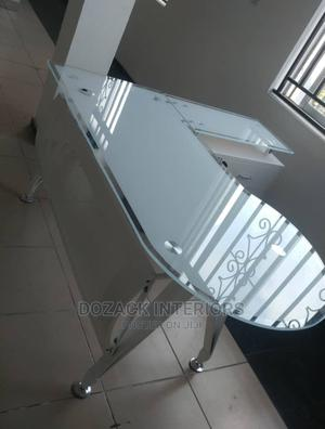 Office Table White Glass   Furniture for sale in Lagos State, Ojo