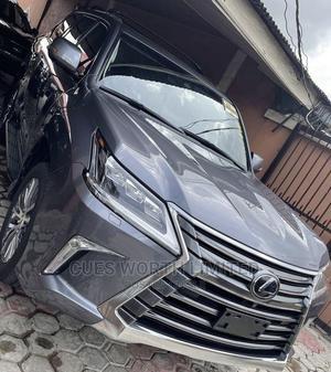 Lexus LX 2018 570 AWD Gray | Cars for sale in Lagos State, Ilupeju