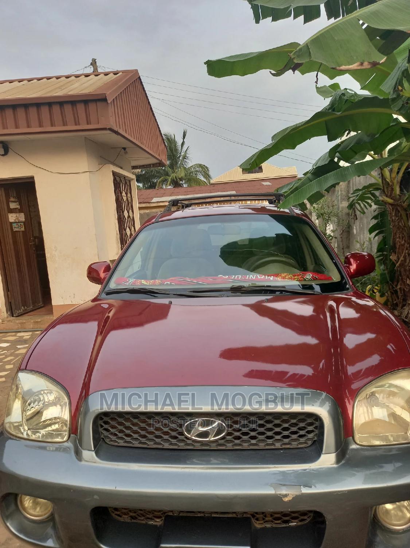 Hyundai Santa Fe 2006 2.0 CRDi GLS 4WD Red | Cars for sale in Oshimili South, Delta State, Nigeria