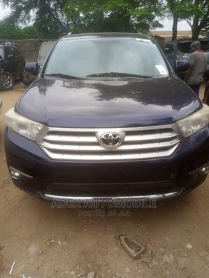 Toyota Highlander 2012 SE Blue   Cars for sale in Lagos State, Magodo