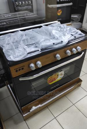 ✓ New Polystar 5 Gas Burners OVEN Auto Ignition -PVWD-960G5G | Kitchen Appliances for sale in Lagos State, Ojo
