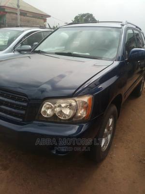 Toyota Highlander 2003 Blue   Cars for sale in Akwa Ibom State, Uyo