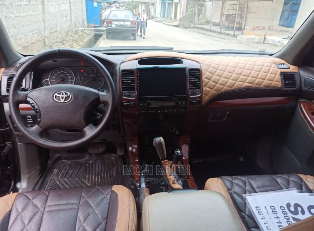 Toyota Land Cruiser Prado 2008 Black | Cars for sale in Port-Harcourt, Rivers State, Nigeria
