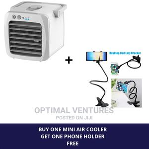 Mini Air Cooler Plus Phone Holder | Home Appliances for sale in Lagos State, Ikeja
