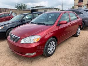 Toyota Corolla 2007 Red | Cars for sale in Abuja (FCT) State, Apo District