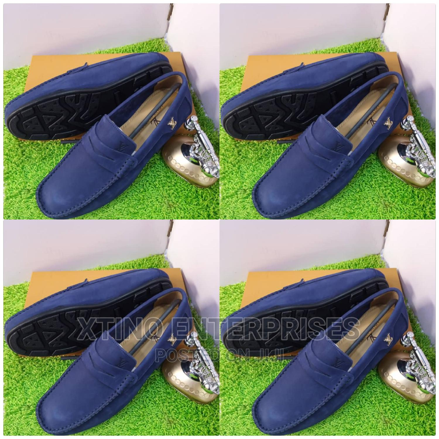 Louis Vuitton Driver Loafers Shoe Original   Shoes for sale in Surulere, Lagos State, Nigeria