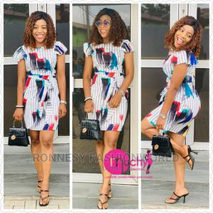 Classic Trendy Female Quality Short Gown | Clothing for sale in Lagos State, Ikeja