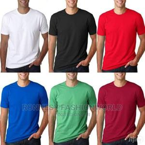 Quality Unisex Indian Pure Cotton Round Neck Polo Tshirt   Clothing for sale in Lagos State, Ikeja
