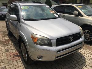 Toyota RAV4 2008 3.5 Sport 4x4 Silver | Cars for sale in Lagos State, Ilupeju