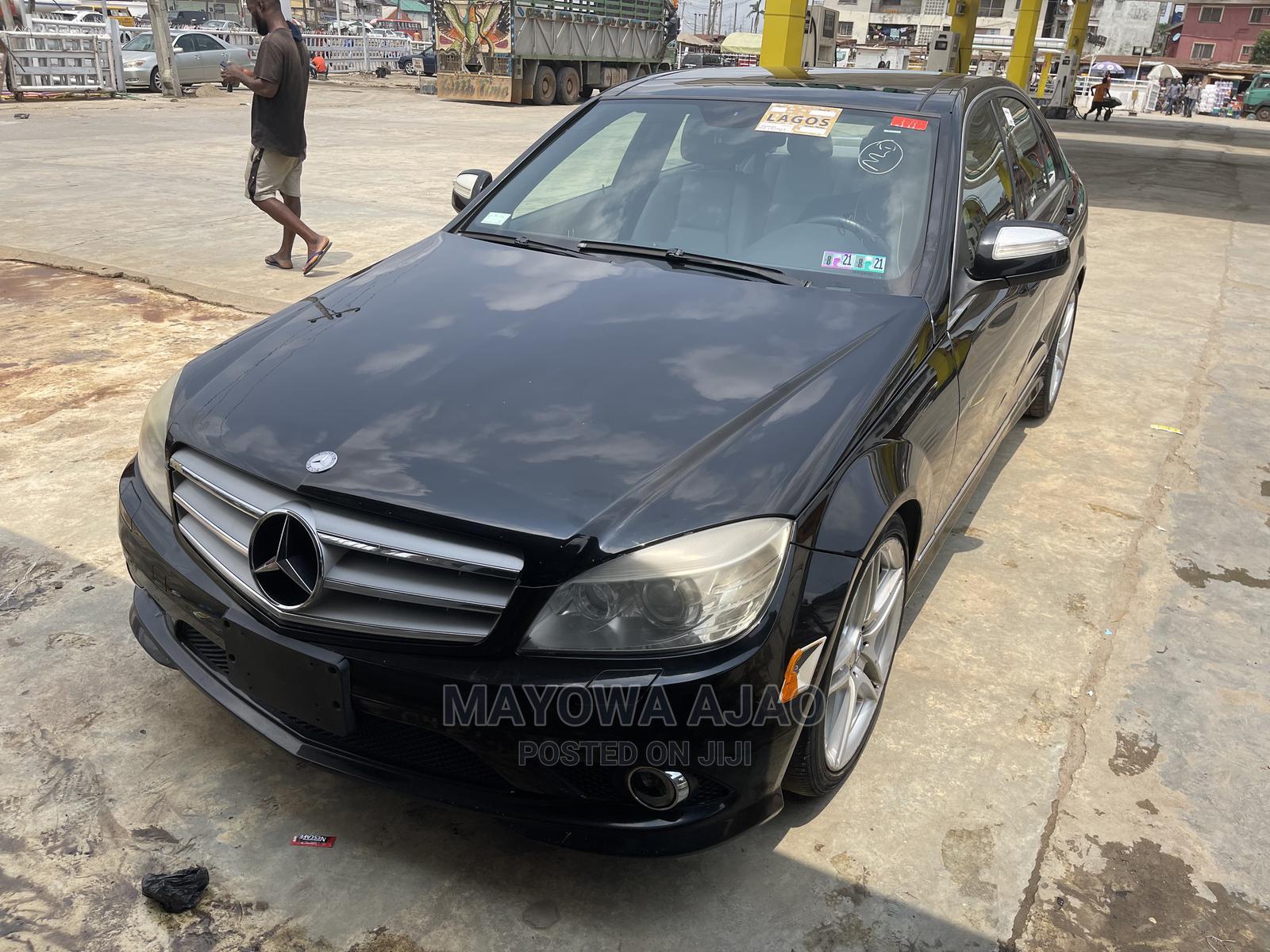Mercedes-Benz C300 2008 Black | Cars for sale in Ojodu, Lagos State, Nigeria