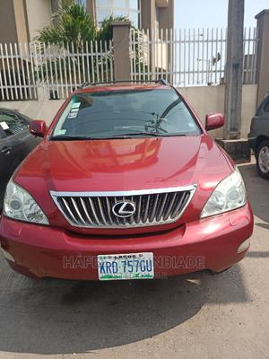 Lexus RX 2009 350 AWD Red | Cars for sale in Lagos State, Surulere