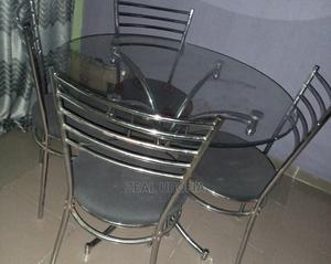 A Glass Dinning Table | Furniture for sale in Akwa Ibom State, Uyo