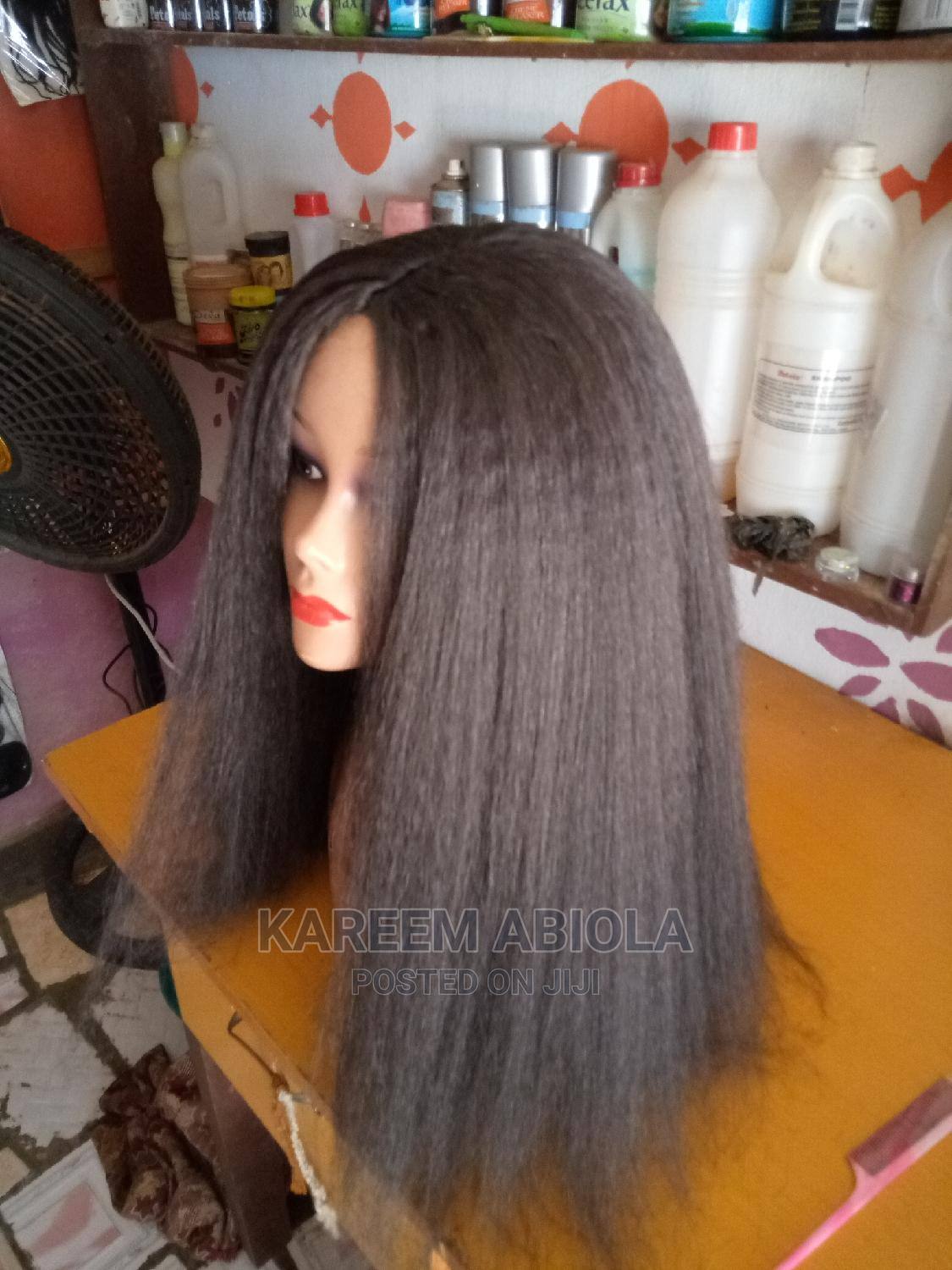 Archive: 24inch Afro Kinky Straight Wigs