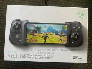 Razer Kishi Smartphone Controller for iPhone - Black   Video Game Consoles for sale in Lagos State, Agege