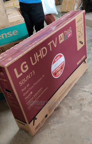 """LG 50""""Inch(Webos) UHD 4k TV Ai Thinq Model 50UN73 Warranty 