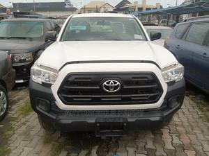 Toyota Tacoma 2016 4dr Double Cab White | Cars for sale in Lagos State, Lekki