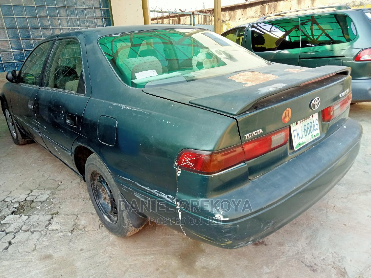 Archive: Toyota Camry 1999 Automatic Green