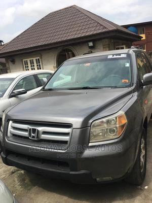 Honda Pilot 2007 LX 4x4 (3.5L 6cyl 5A) Gray   Cars for sale in Lagos State, Abule Egba