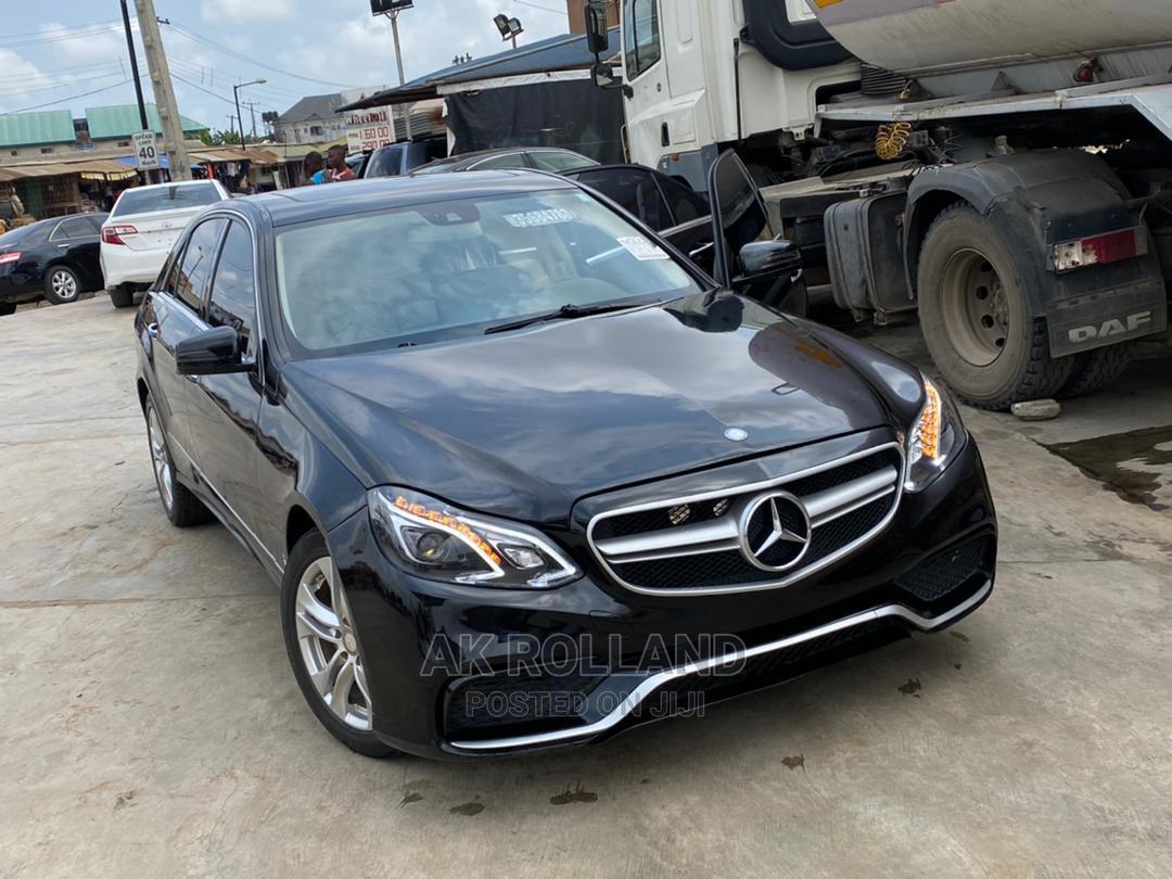 Mercedes-Benz E350 2016 Black