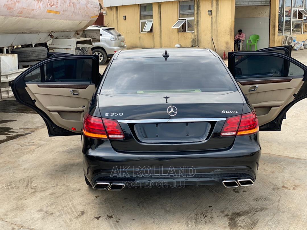 Mercedes-Benz E350 2016 Black   Cars for sale in Ikeja, Lagos State, Nigeria