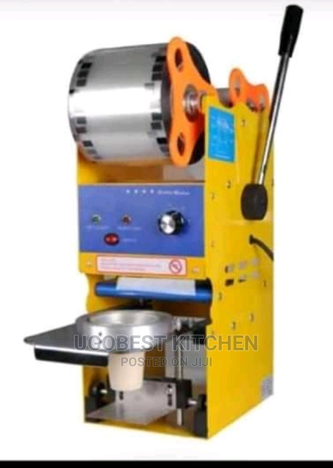 Archive: Newly Imported Cup Sealing Machine With High Quality