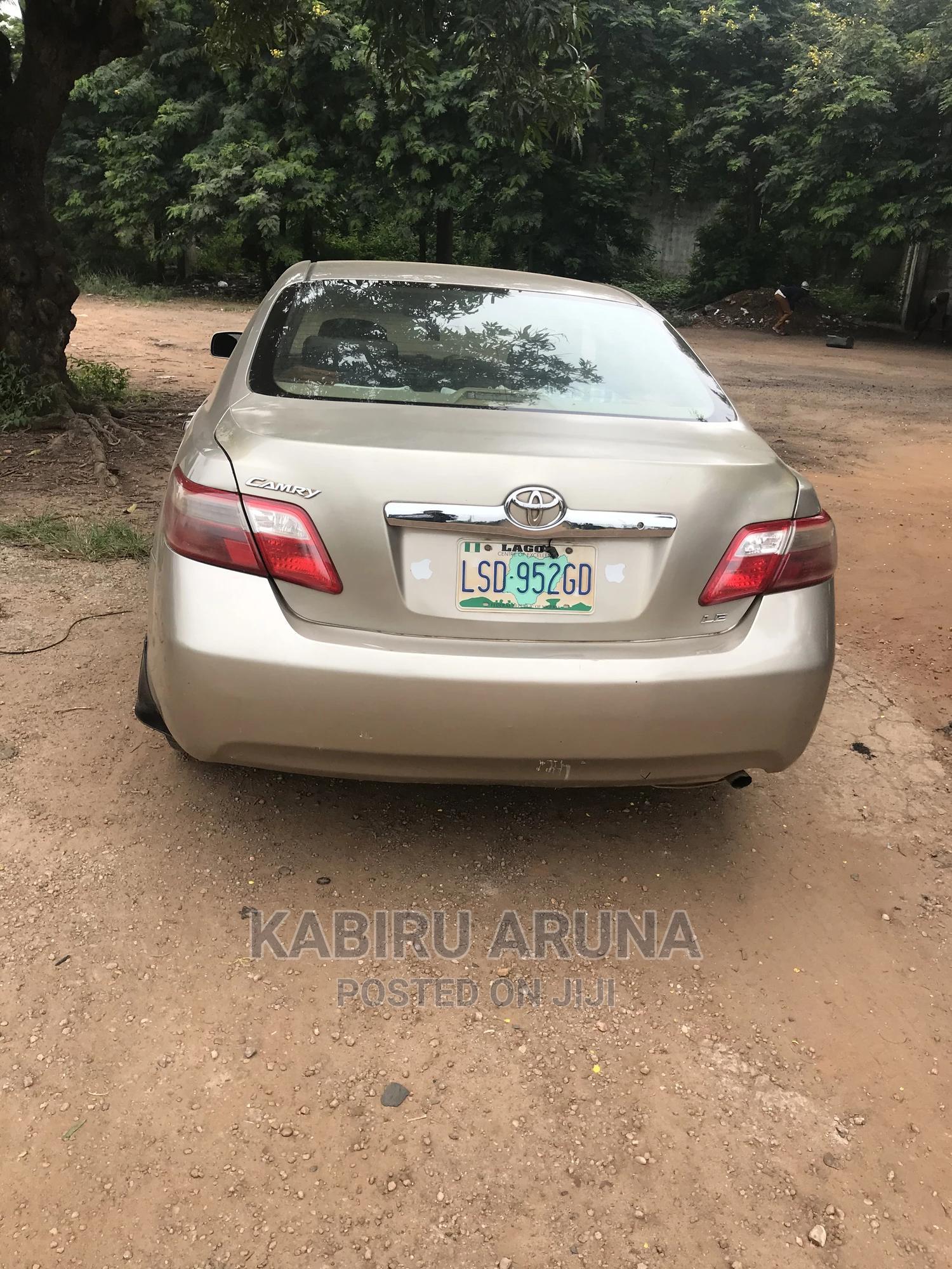 Toyota Camry 2007 Gold | Cars for sale in Sagamu, Ogun State, Nigeria