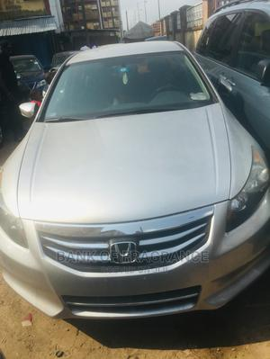 Honda Accord 2012 Sedan EX Automatic Silver   Cars for sale in Lagos State, Surulere
