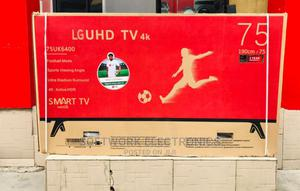 Lg 75 Inches Smart 4k Tv | TV & DVD Equipment for sale in Lagos State, Ajah